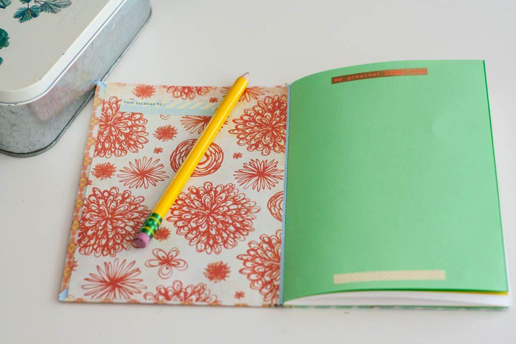 hacer cuaderno casero