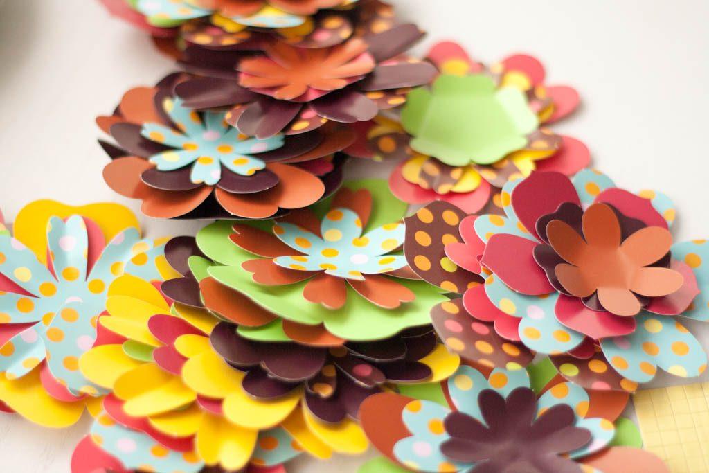 flores de scrap