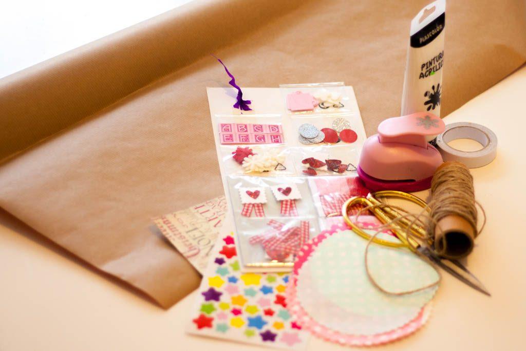 Material para hacer bolsas de papel