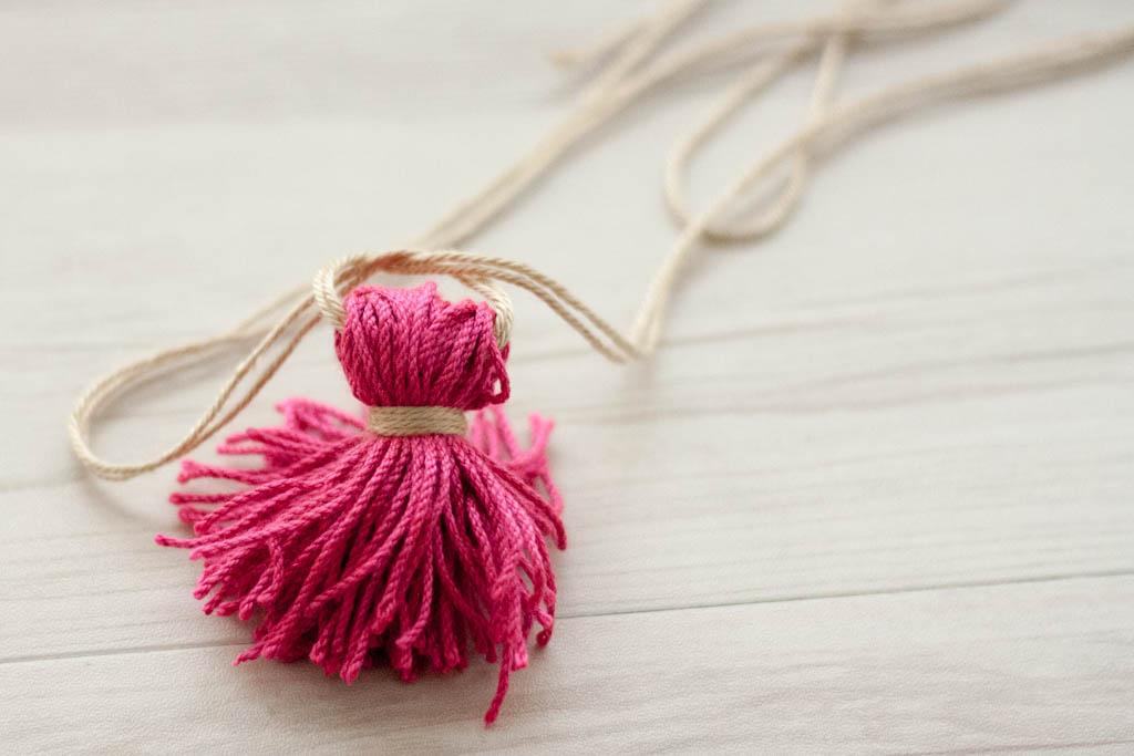 borla de lana