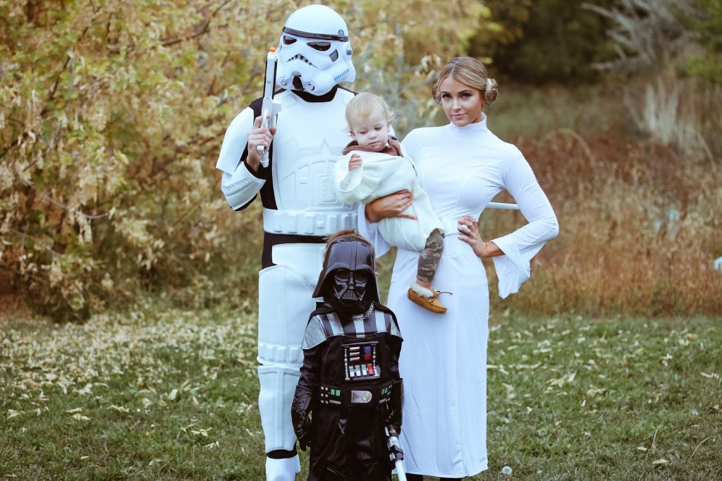 disfraz de stars wars para toda la familia
