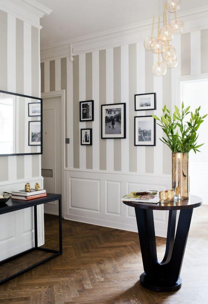 10 Ideas para pintar paredes imitando papel pintado.