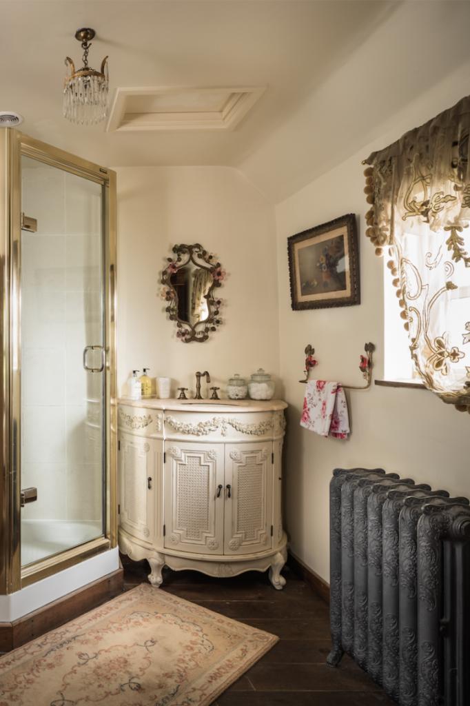 baño Cabaña inglesa
