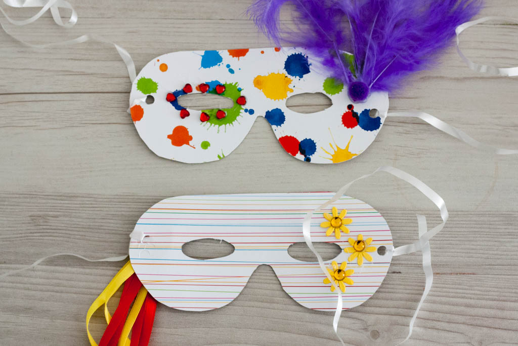Como Hacer Mascaras De Carnaval Facil Para Niños En Casa
