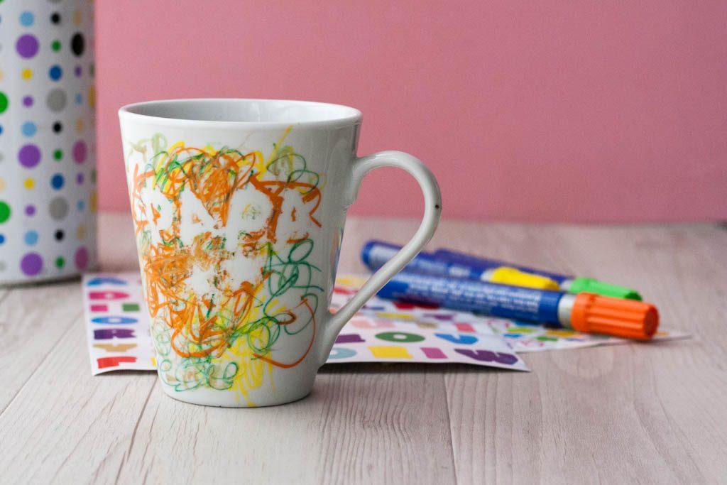 taza decorada para el dia del padre