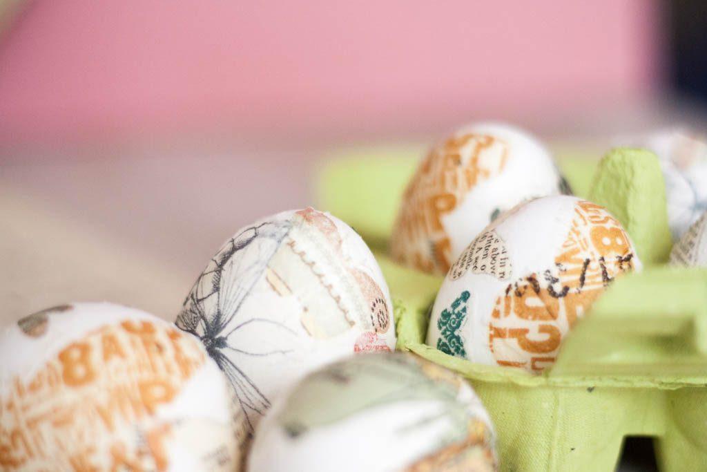 decoracion de huevos de pascua