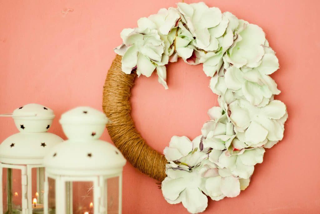corana de flores para decorar