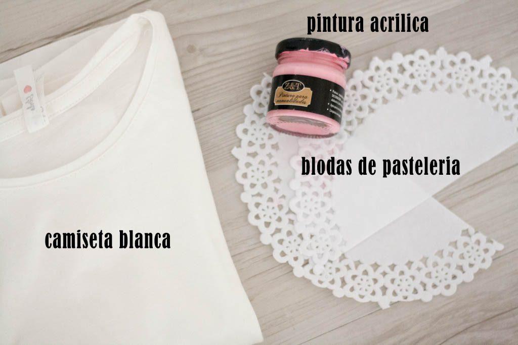 material para decorar camisetas
