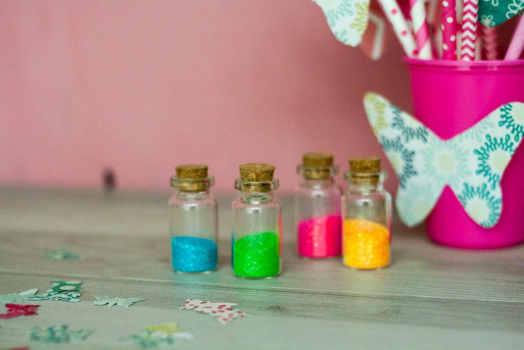 ideas para cumpleaños: polvo de hadas