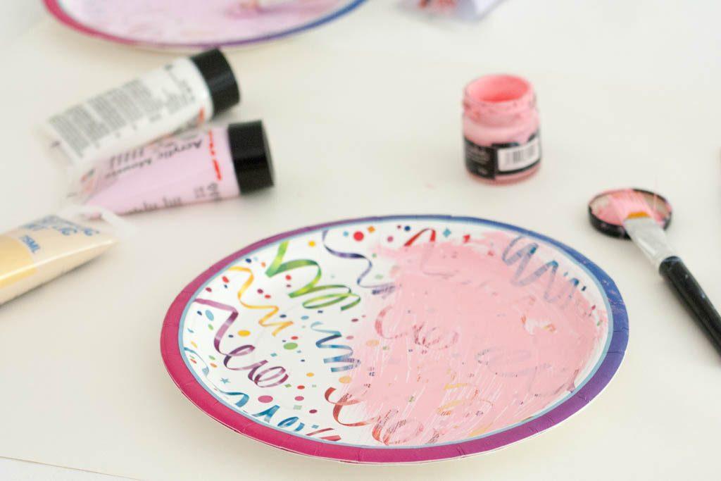 como pintar platos