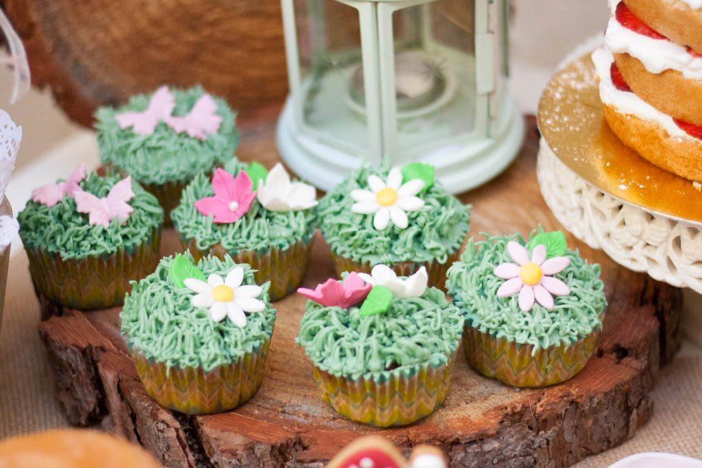cupcakes de bosque encantado