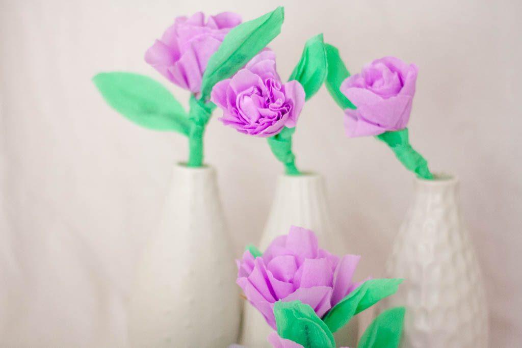 Manualidades faciles para el dia de la madre flores de papel - Www manualidades faciles ...