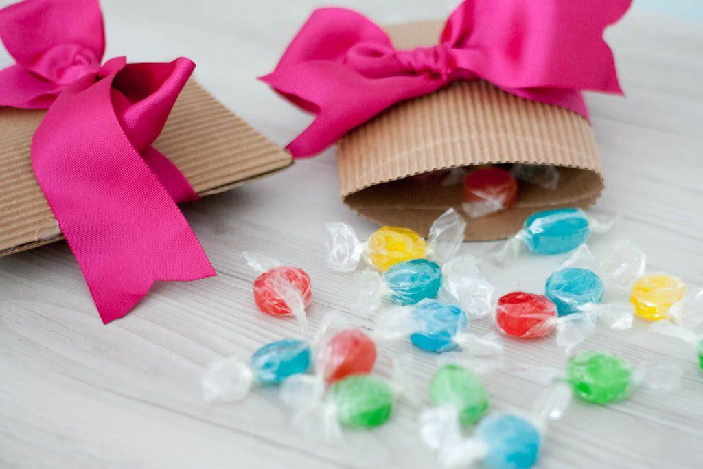 caja para caramelos