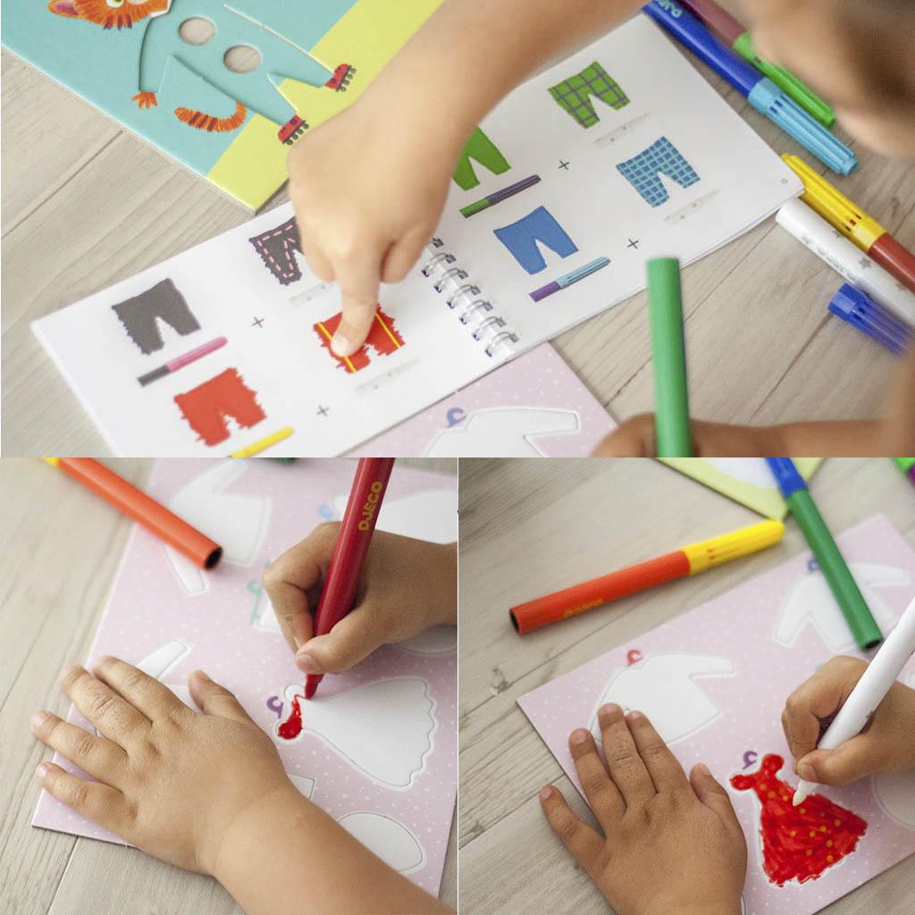proceso creativo en niños