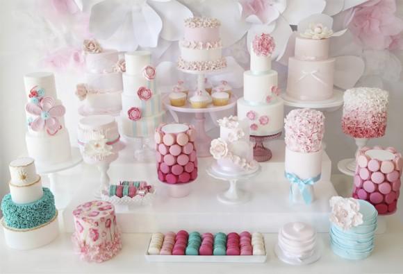 mesa de tartas