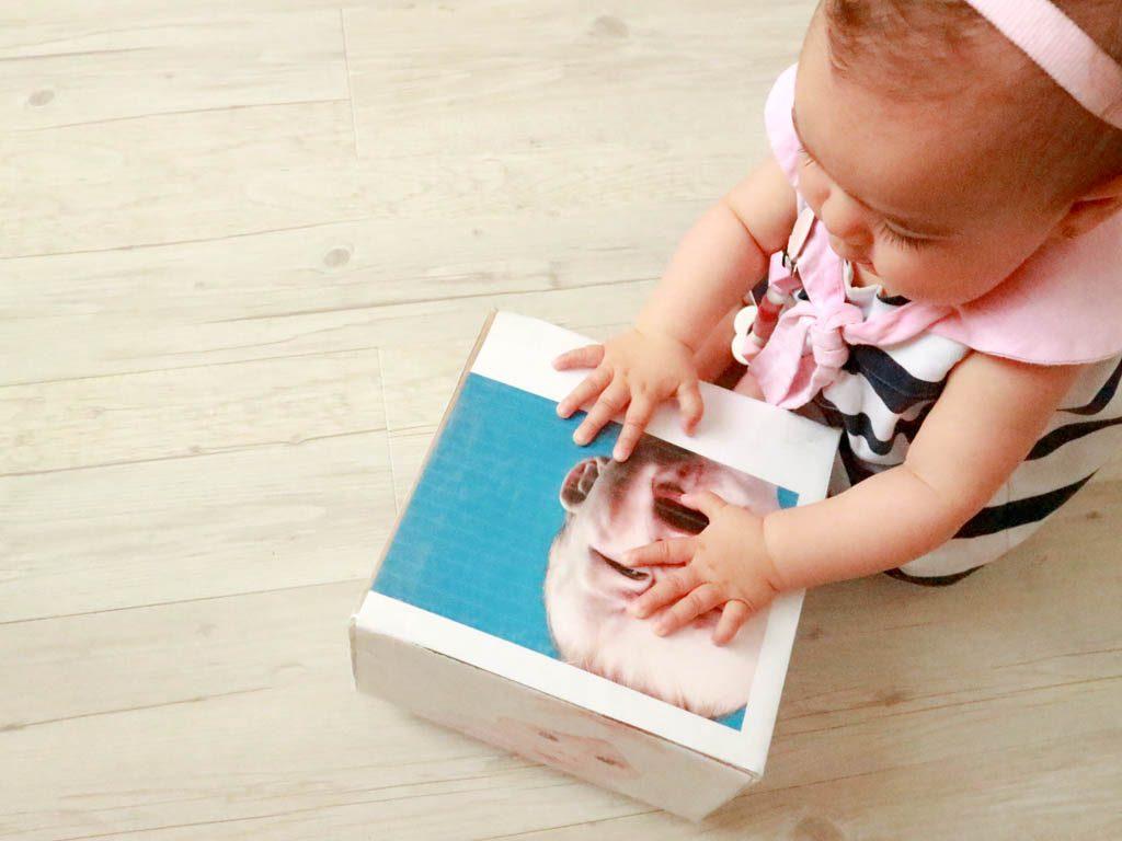 juguetes reciclados para niños con cajas de cartón