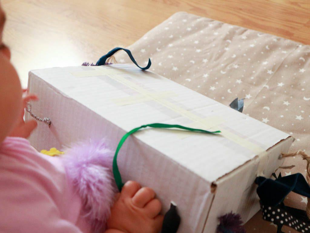 juguete casero para bebes