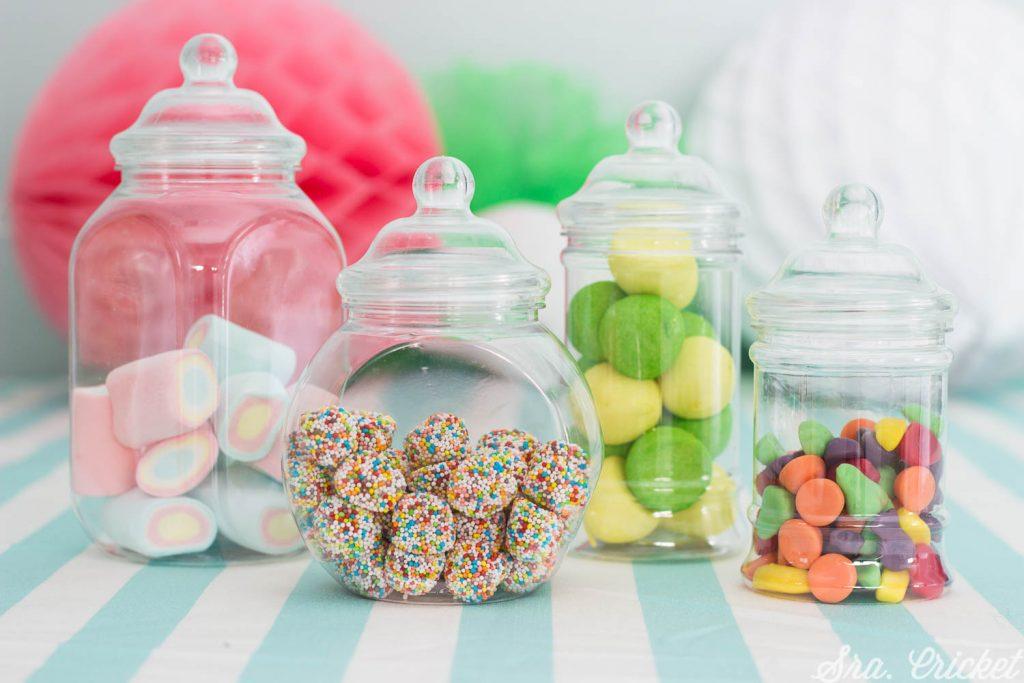 como hacer una mesa de dulces