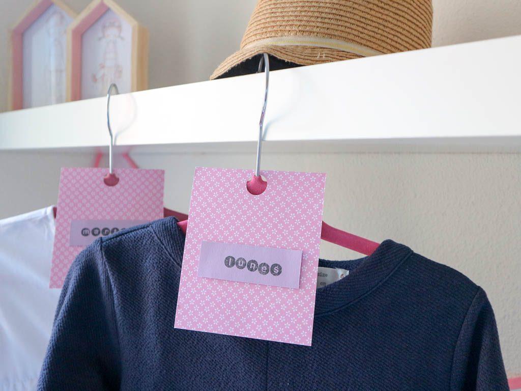 organizar la ropa con separadores