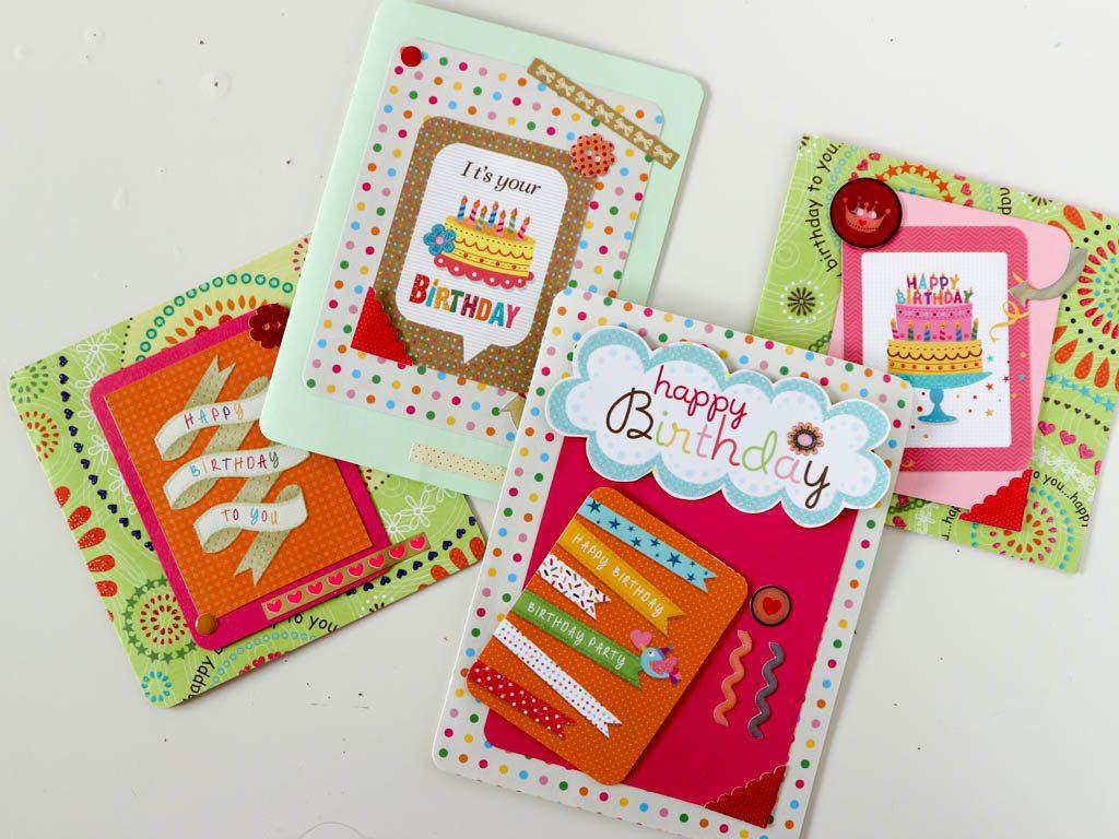 como hacer tarjetas de felicitacion
