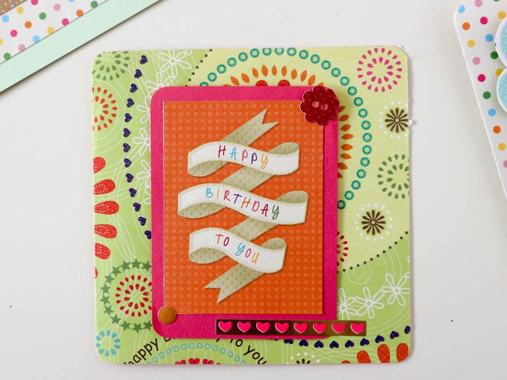idea de tarjeta de felicitacion