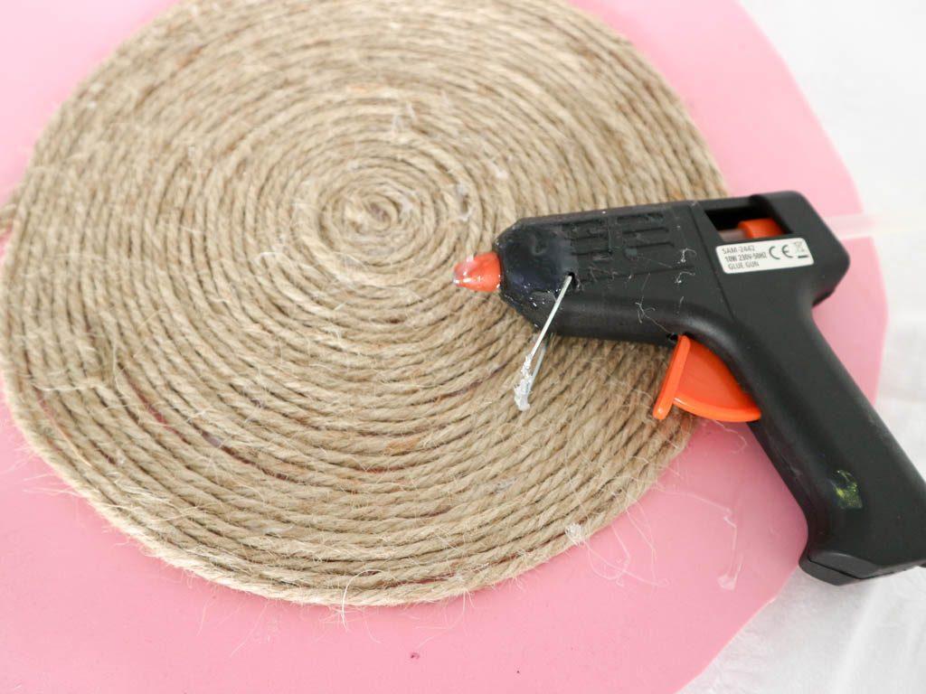paso a paso para hacer salvamanteles de cuerda