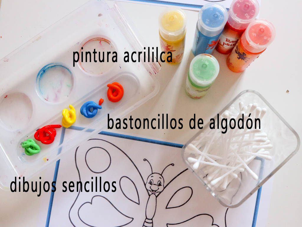 materiales para organizar actividades con niños