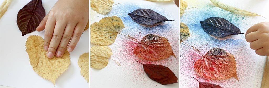 paso a paso para hacer manualidades faciles de otoño