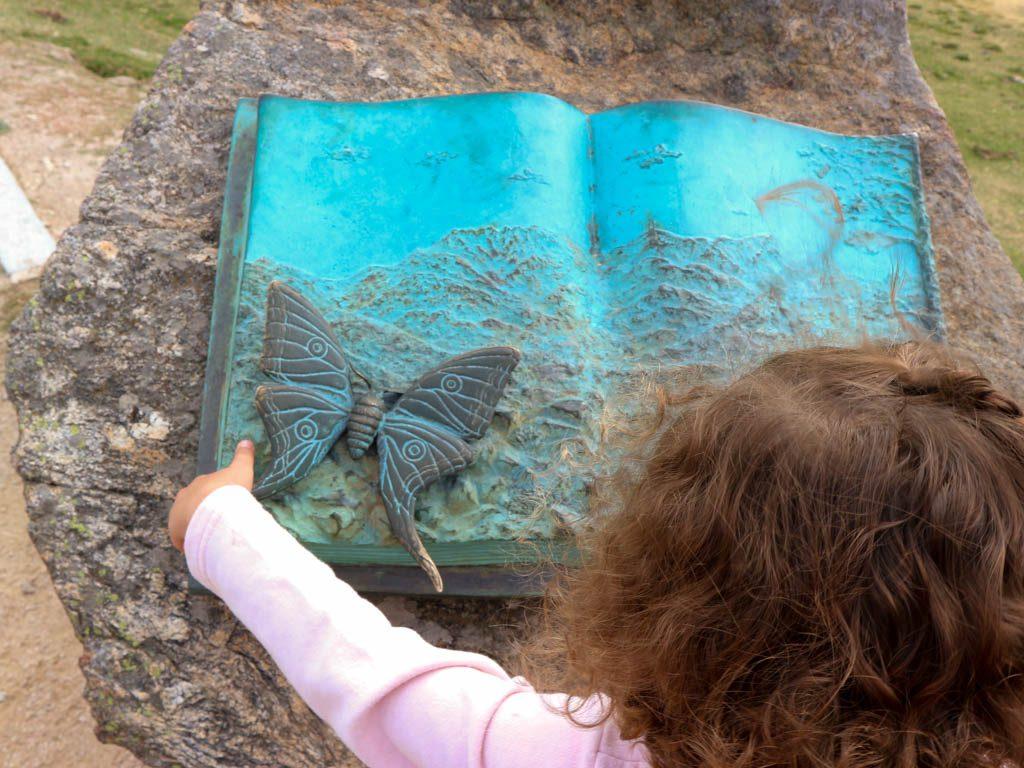 senderismo con niños por Guadarrama