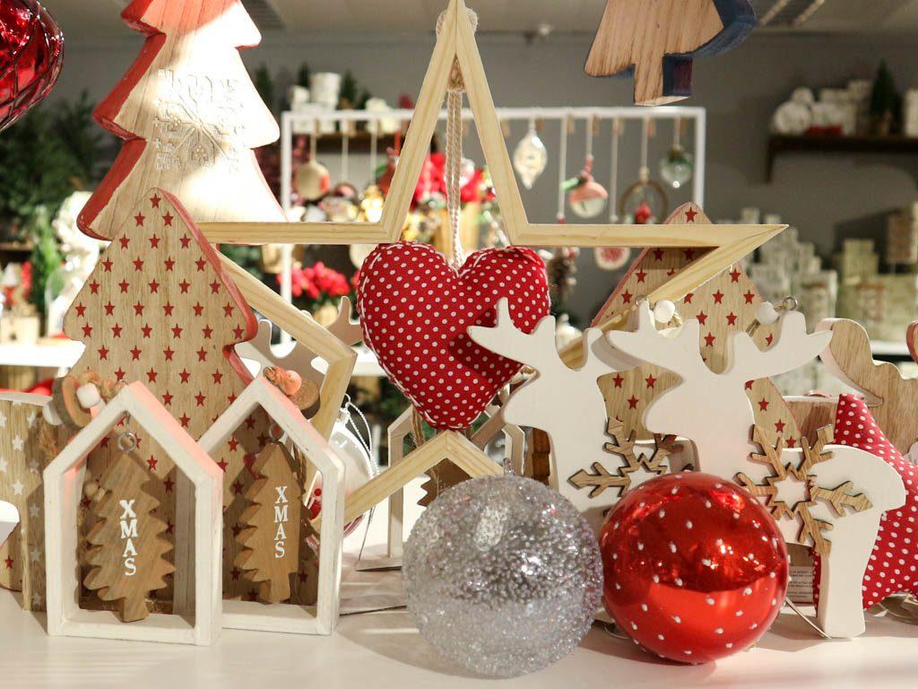 adornos navideños de inspiración nordica