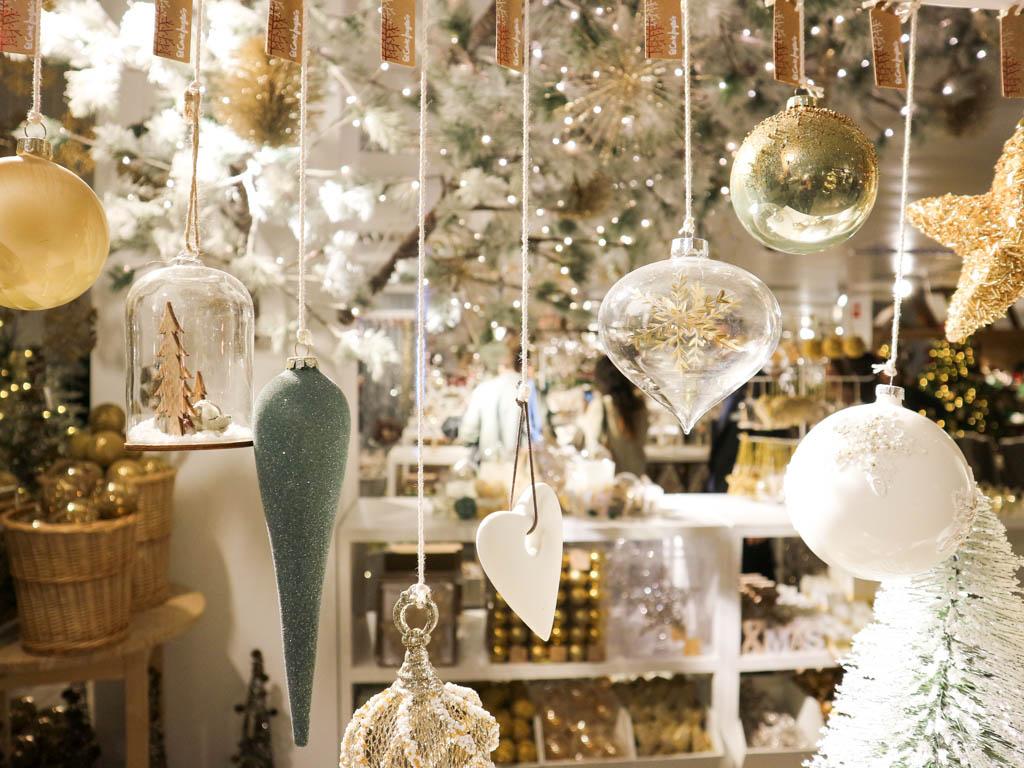 Adornos colgantes de navidad