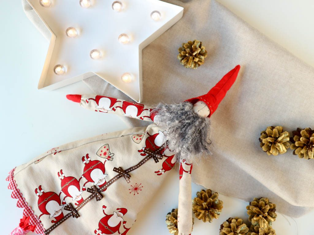 Adornos de navidad caseros duendes de navidad - Adornos caseros navidad ...