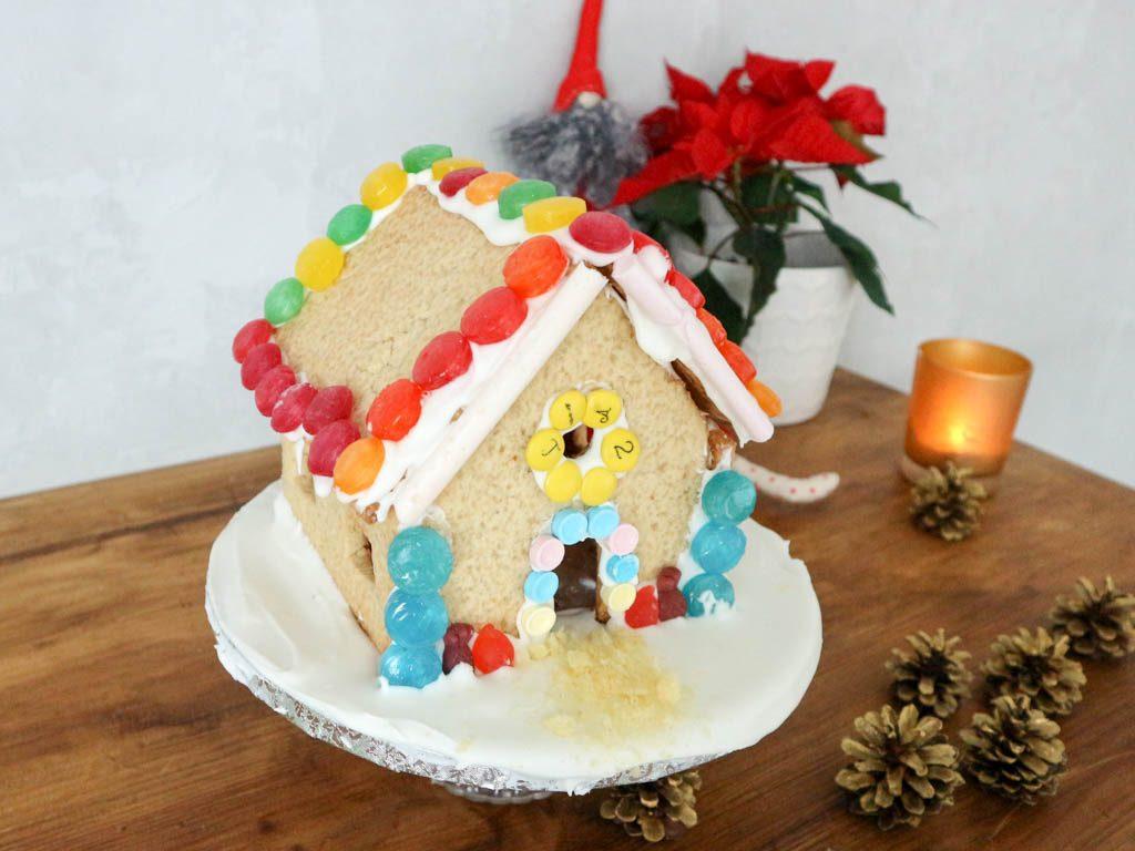 casa de galletas decorada