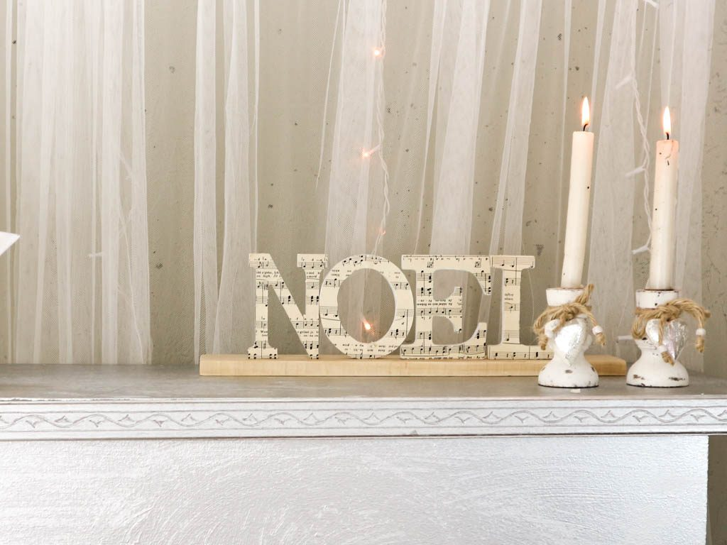 Adornos navide os hechos a mano letras de navidad - Adornos de navidad hechos a mano ...