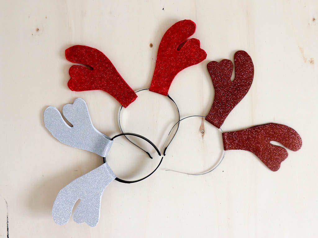 diademas de navidad hechas en casa