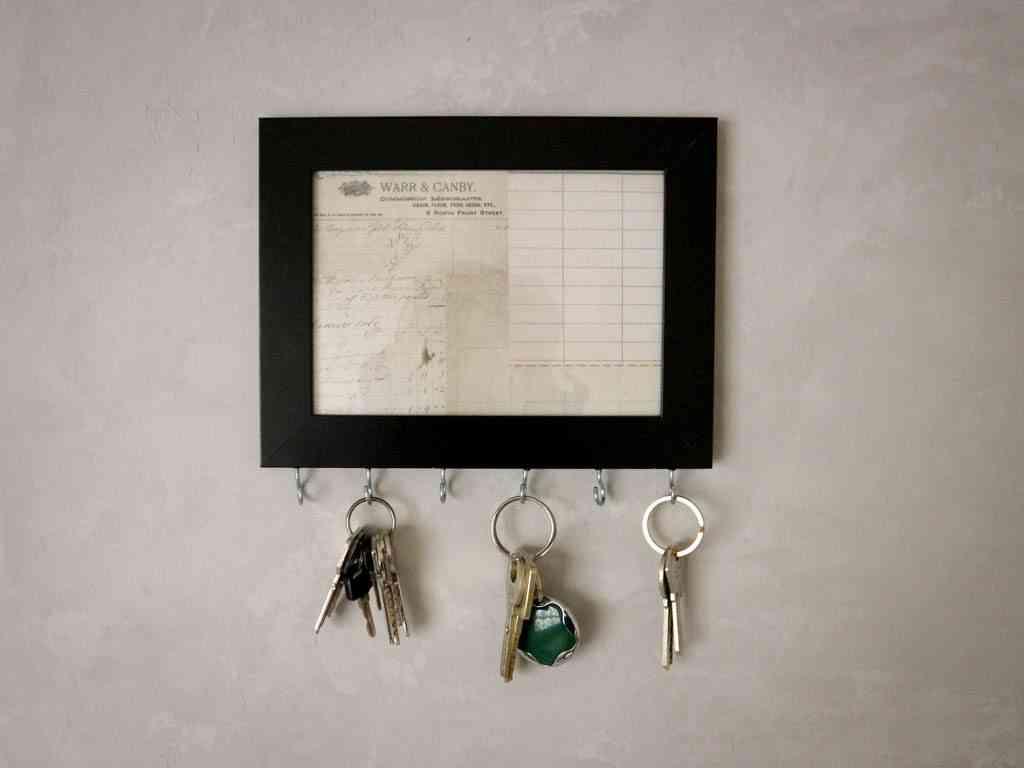 organizador de llaves casero