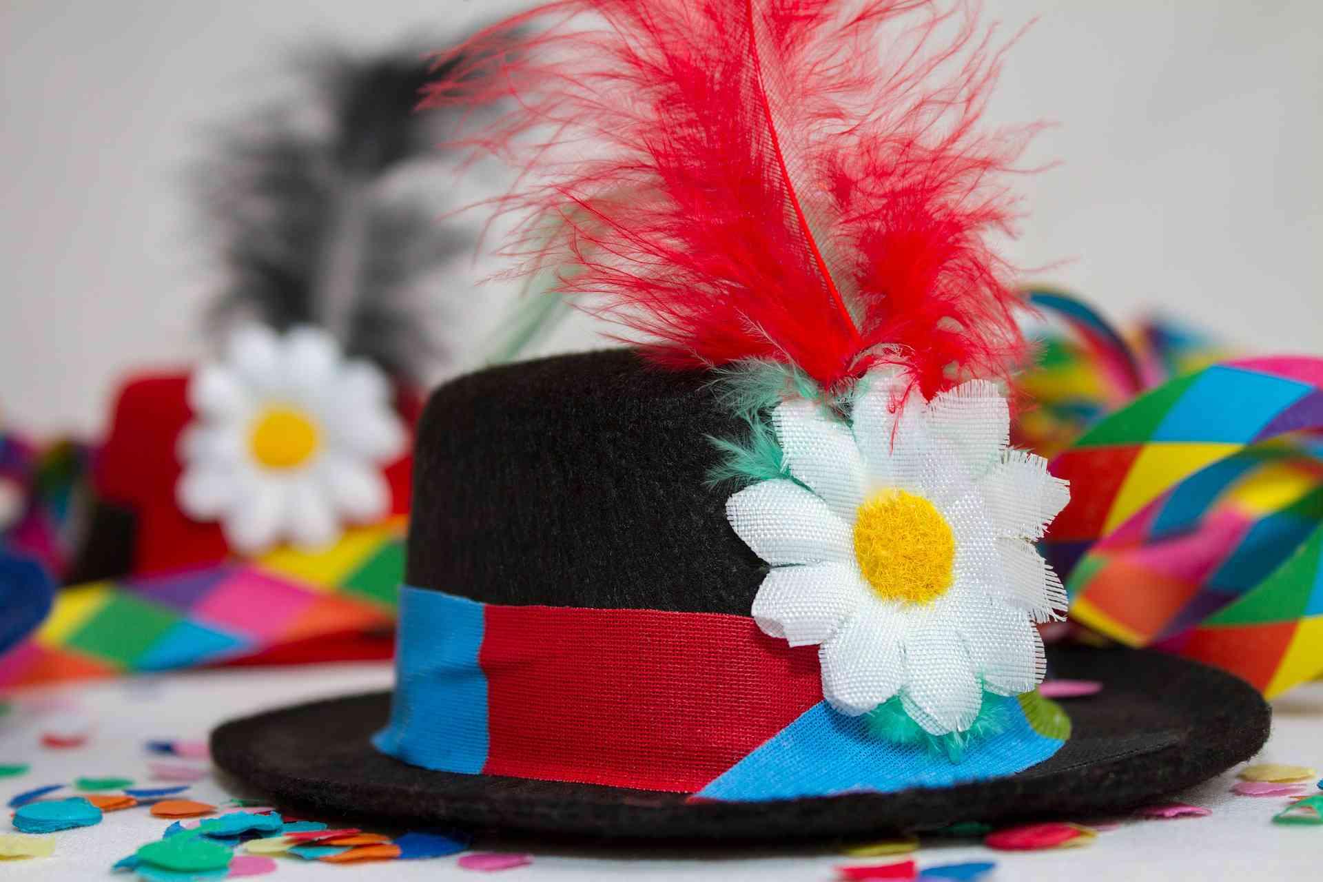 sombrero de payaso