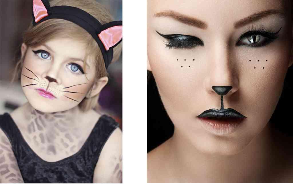 como hacer un maquillaje de gato
