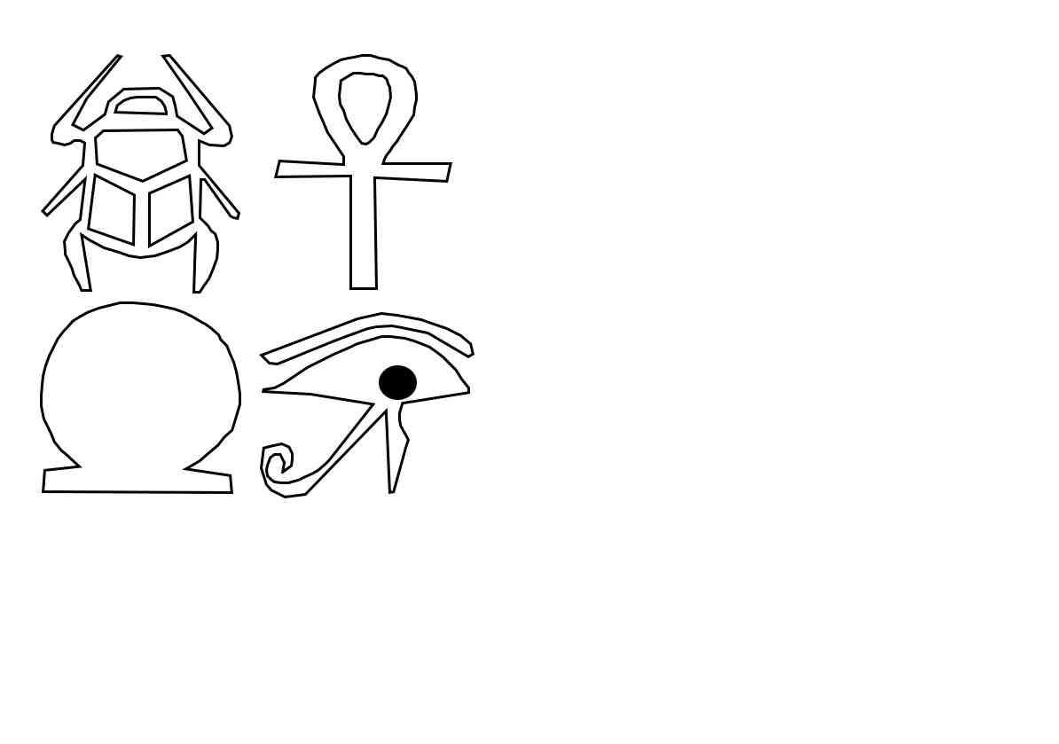 Como hacer un disfraz de egipcia paso a paso con plantillas