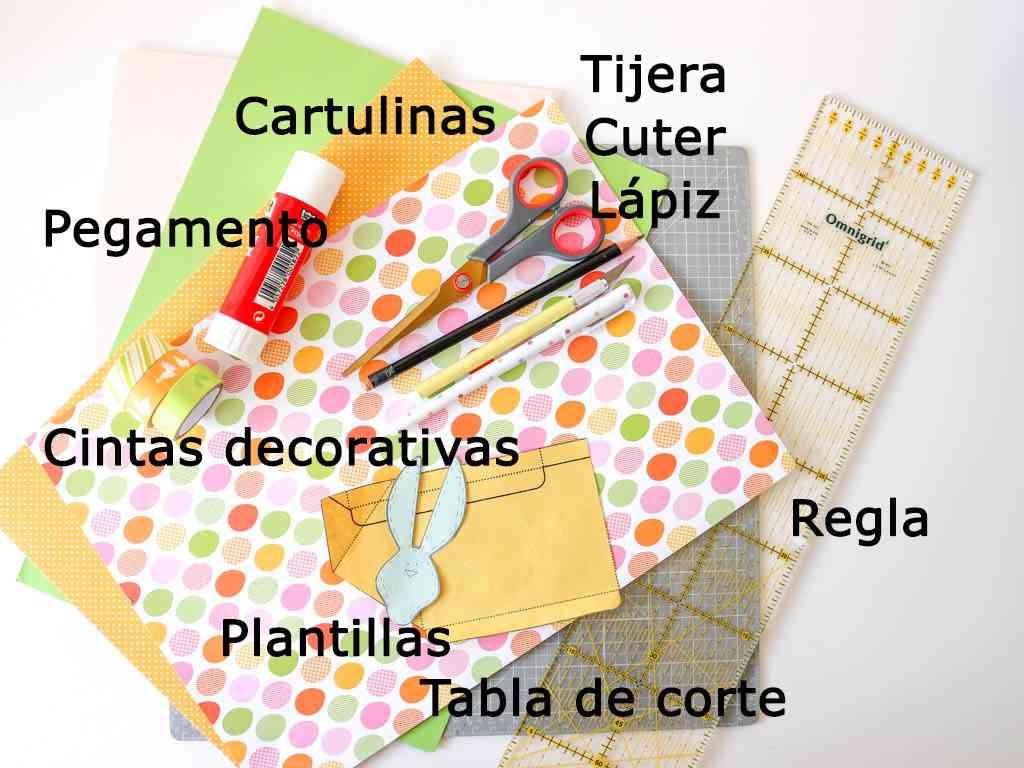 materiales para hacer manualidades de pascua
