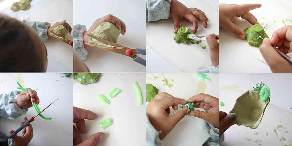 paso a paso para hacer manualidades con reciclaje