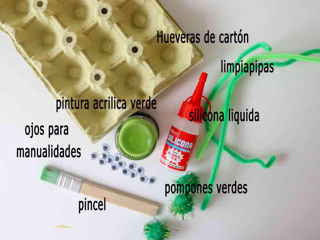 materiales para hacer manualidades con reciclaje
