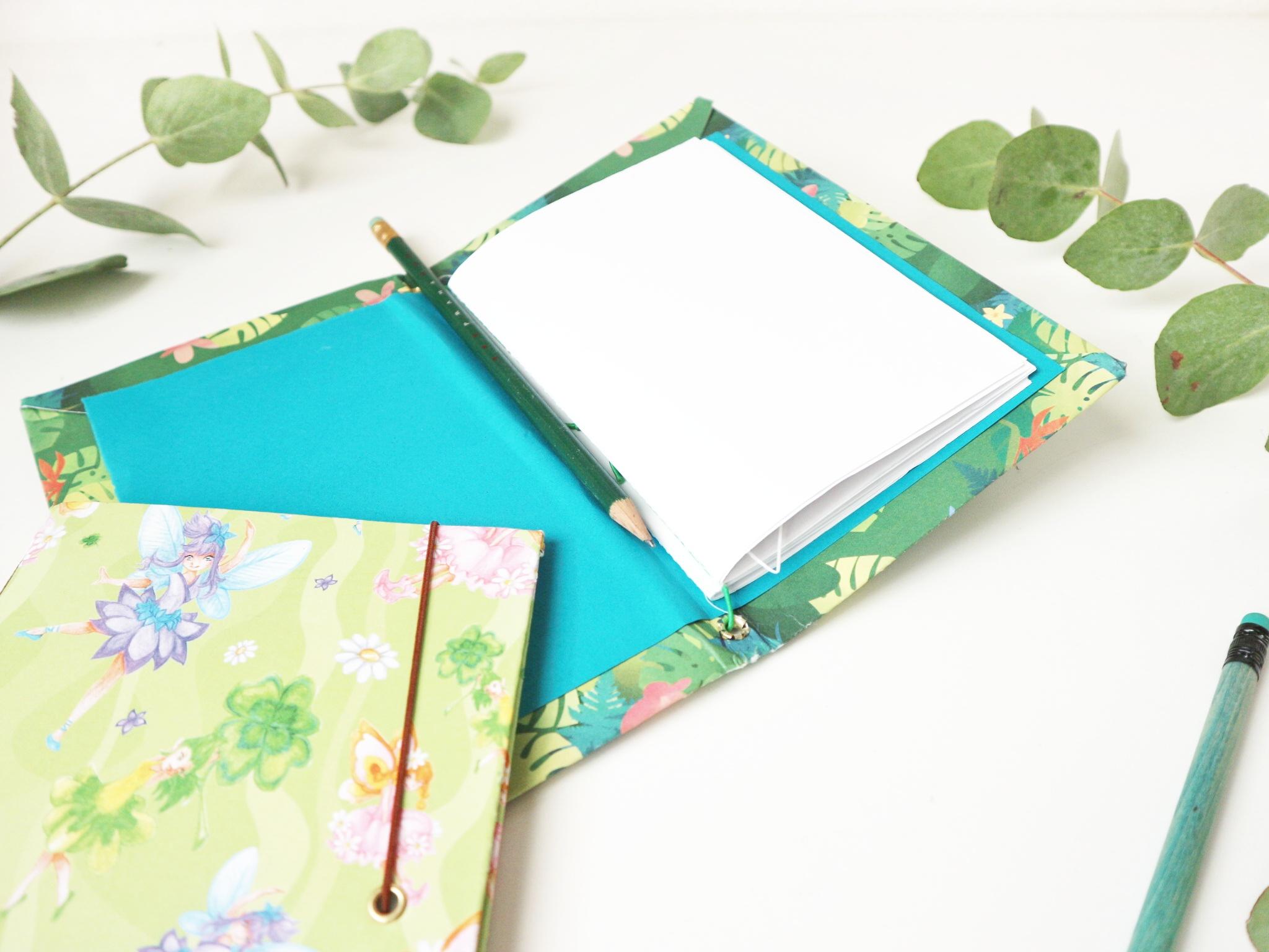 como hacer un cuaderno tipo midori