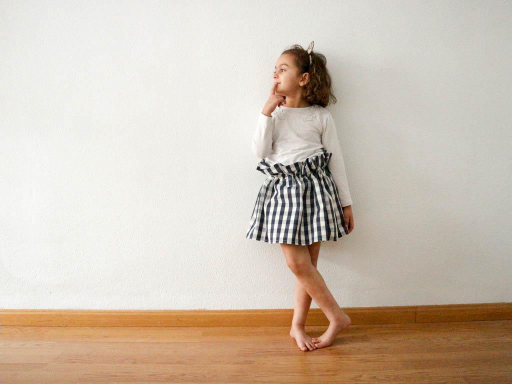 como hacer una falda sencilla