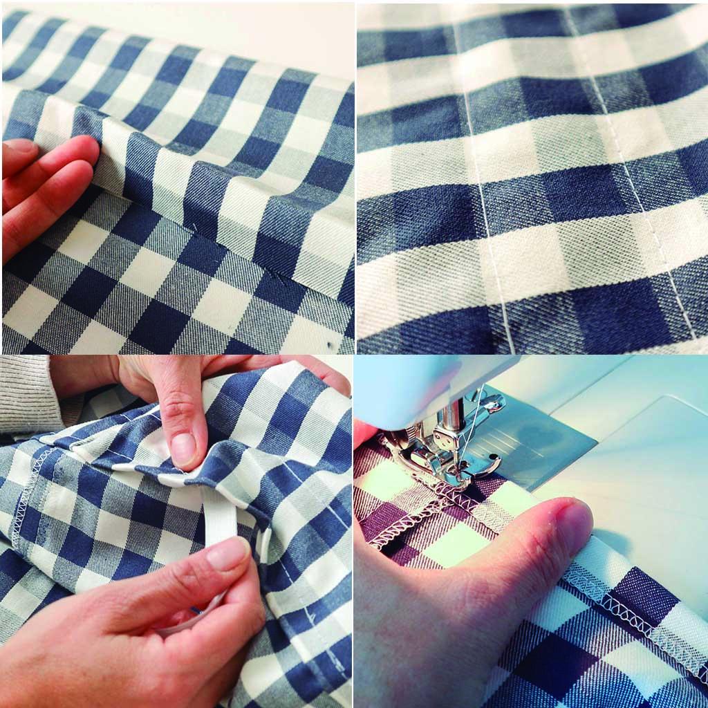 paso a paso como hacer una falda
