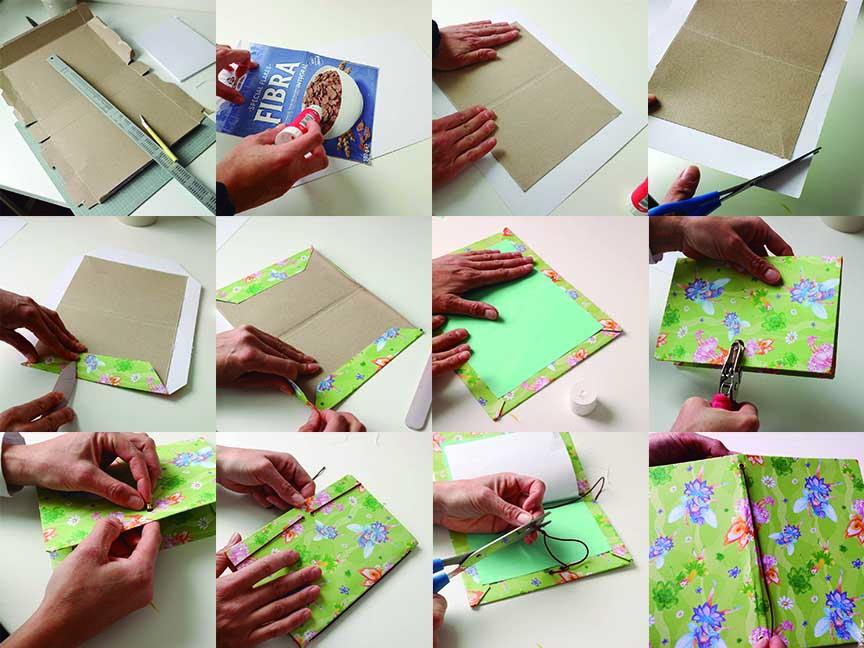 como hacer un cuaderno