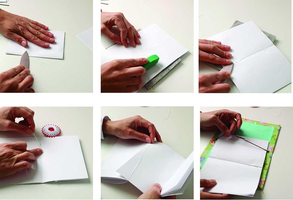 paso a paso para hacer un cuaderno