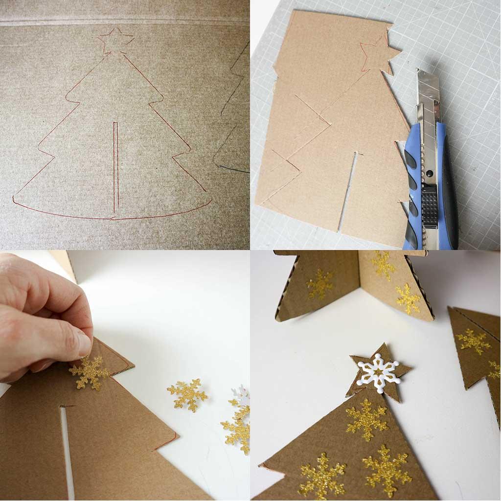 paso a paso como hacer decoracion navideña diy