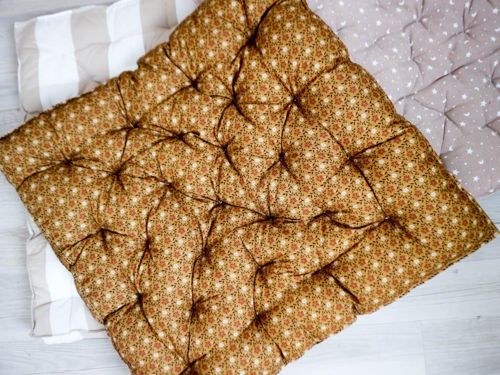 como hacer colchonetas para niños